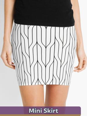 Seamless Patterns - Mini Skirt