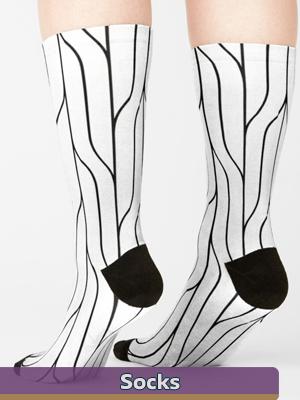 Graphic Art - Socks