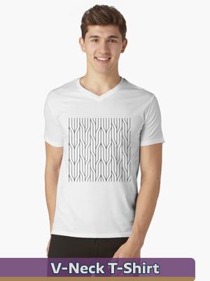 Graphic Art - V-Neck T-Shirt
