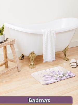 Graphic Art - Bath Mat