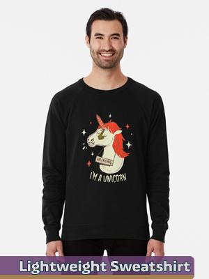 Text Illustration - Lightweight Sweatshirt