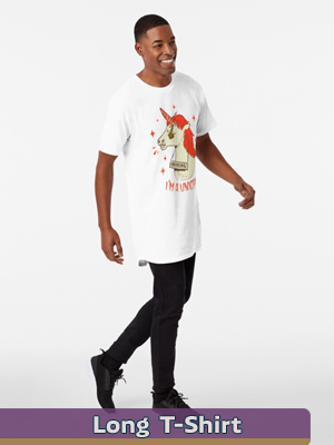Text Illustration - Long T-Shirt