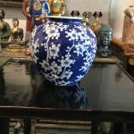 Kinesisk vase blue and white