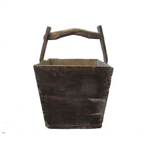 Old wood basket