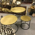 Gold small table