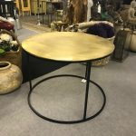 Gold large table