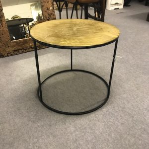 Gold midi table