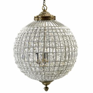 Crystal lamp, large