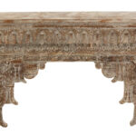 Wood Indian Console