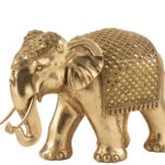Elefant deco gold large