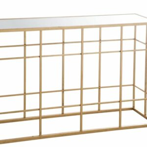 CONSOLE BARS METAL/GOLD