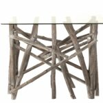 Console Wood – Glass