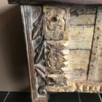 Indian reclaimed wood console