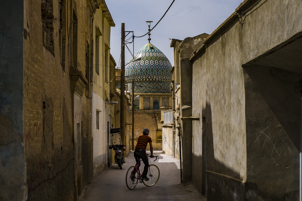 biking in shiraz