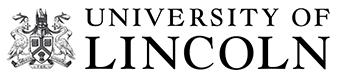 University of Lincoln Black & white Logo