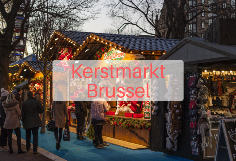 Kerstmarkt Brussel 29 december