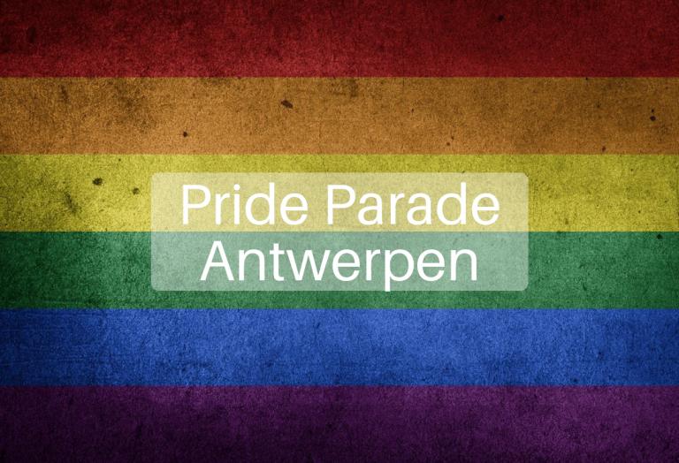 Pride Parade Antwerpen 10 augustus