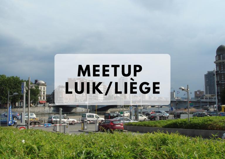 Meetup Luik 15 mei