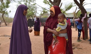 Kamil Ahmed does an interview in Dadaab