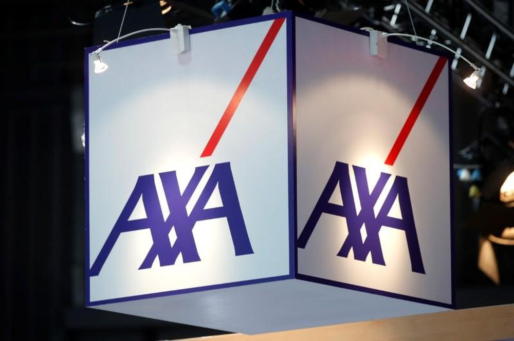 The logo of insurer Axa is seen at the high profile startups and high tech leaders gathering, Viva Tech,in Paris, France May 16, 2019. — Reuters pic