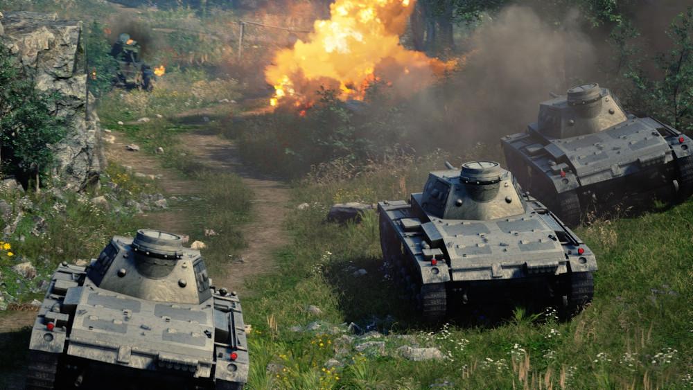 A screenshot taken from 'Strategic Mind: Blitzkrieg'. — Picture via Steam