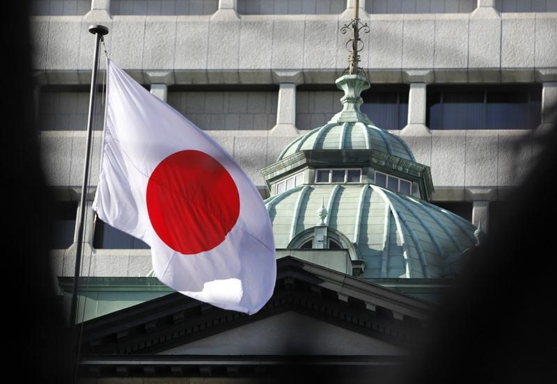 BOJ Stands Pat, Ups Growth View While Cutting Price Forecast