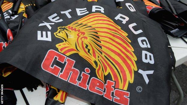 Exeter first rebranded themselves as the Chiefs in 1999