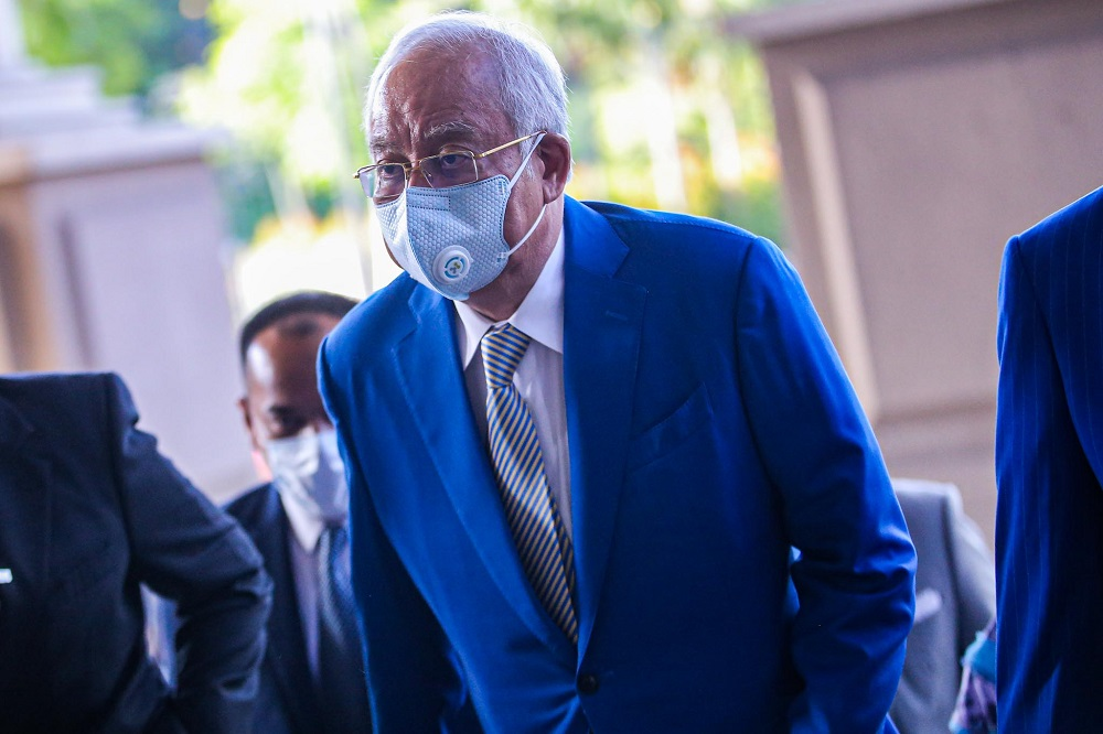 On July 28, the High Court found Najib guilty of all seven charges of committing power abuse, criminal breach of trust, and money laundering in the SRC International trial. — Picture by Hari Anggara