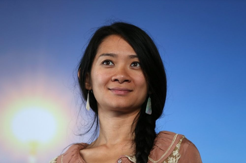 Chinese-born director Chloe Zhao won top prize at the Venice film festival, 10 years after Sofia Coppola's 2010 win for her film 'Somewhere'. — AFP pic