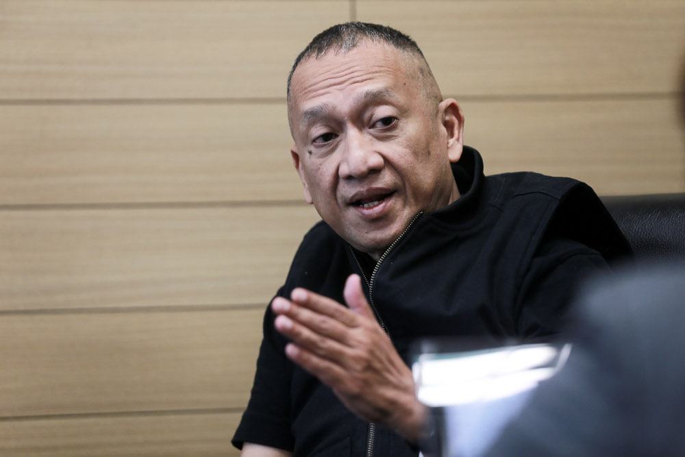 Padang Rengas MP Datuk Seri Nazri Aziz speaks during an interview at his office in Kuala Lumpur September 15, 2020. — Picture by Ahmad Zamzahuri