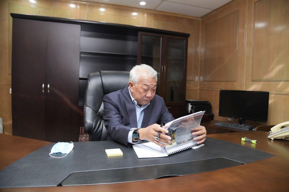 Datuk Seri Bung Moktar had been acting Safa president since Dec 14 last year. — Bernama pic