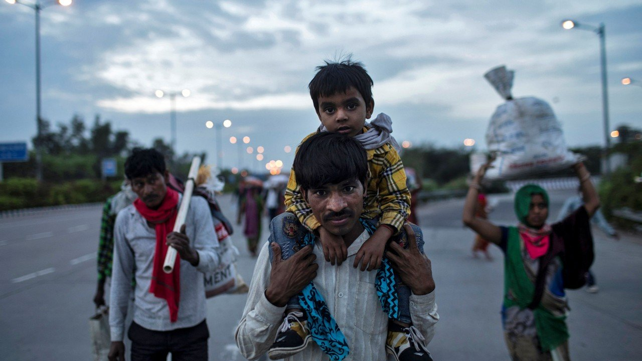 India's poor hit hard by 21-day nationwide lockdown amid the coronavirus pandemic