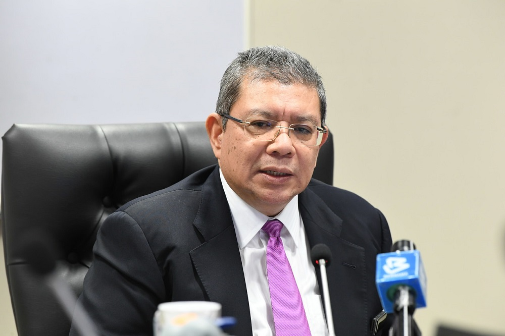 Communications and Multimedia Minister Datuk Saifuddin Abdullah said the patriotic spirit remained the same although the focus is now slightly different from before. — Bernama pic