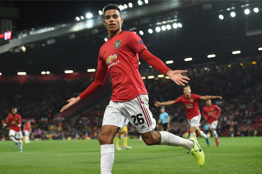 Manchester United's striker Mason Greenwood called his actions 'poor judgement'. — AFP pic