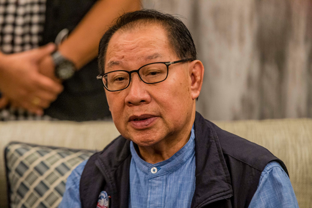 Deputy Chief Minister Datuk Jeffrey Kitingan said the African Swine Fever, that has been affecting pigs and wild boars, was also detected in the Tawau and Nabawan districts. — Picture by Firdaus Latif
