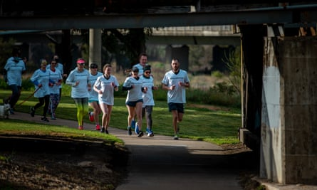 Runners in Kylie Moore-Gilbert's home town of Bathurst, run in solidarity with the jailed academic.