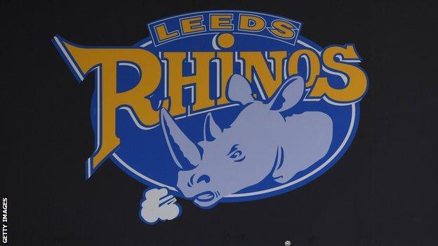Leeds Rhinos badge