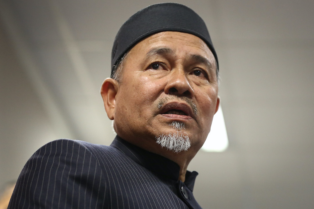 Datuk Seri Tuan Ibrahim Tuan Man says the Ministry of Environment and Water has allocated RM77 million for flood mitigation projects in the Kota Belud district. — Picture by Yusof Mat Isa