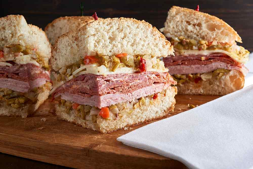 The muffuletta, the Sicilian sandwich with a New Orleans history. — sandoclr / IStock.com  pic via AFP