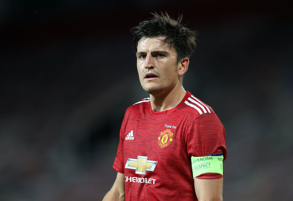 File photo of Manchester United's Harry Maguire, during the match against LASK Linz at the Old Trafford in Manchester, August 5, 2020. — Reuters pic
