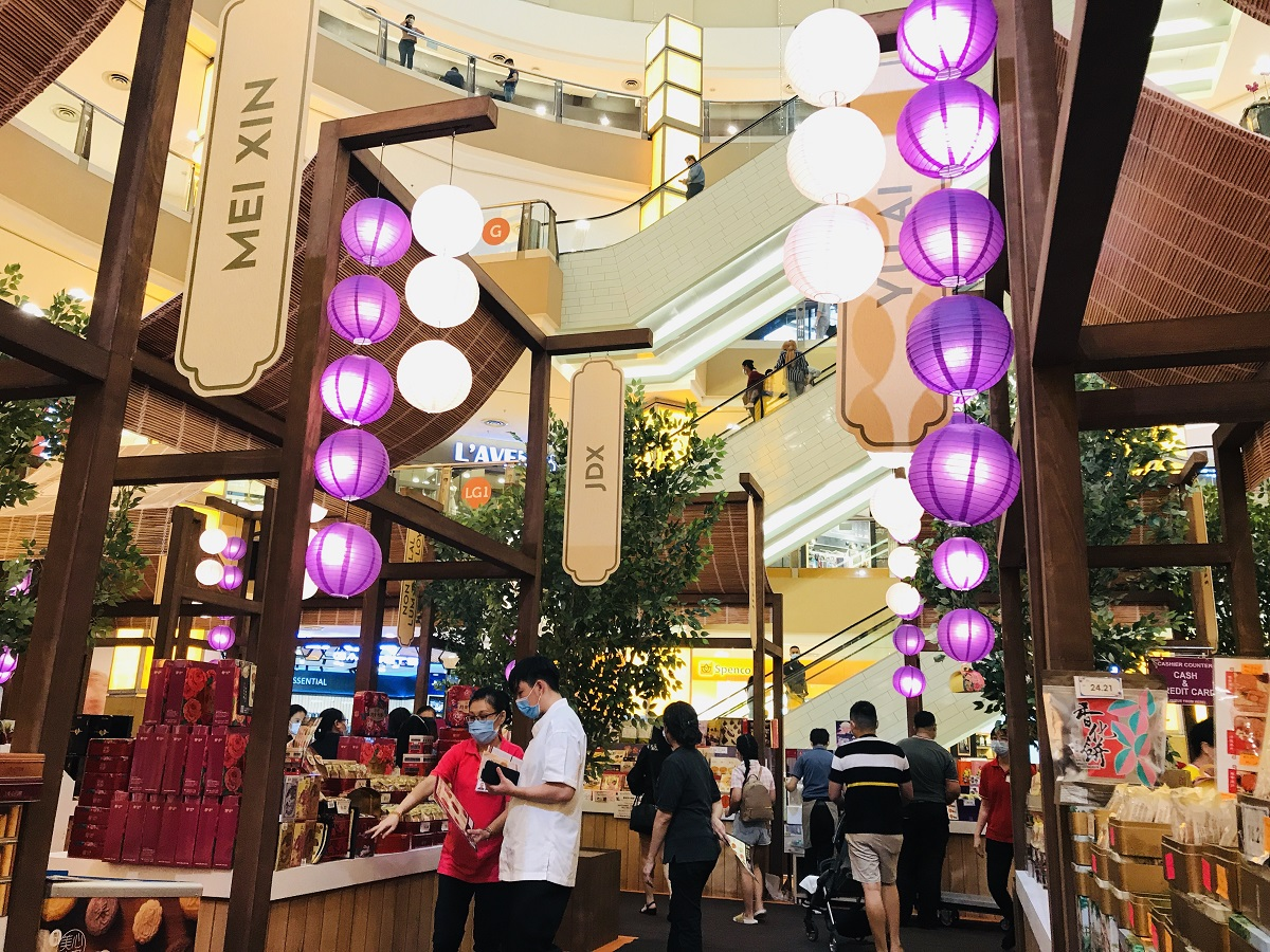 Indulge in Mid-Autumn Festival with an array of delectable festive delights including a variety of mooncakes at Sunway Pyramid. — Picture courtesy of Sunway Malls