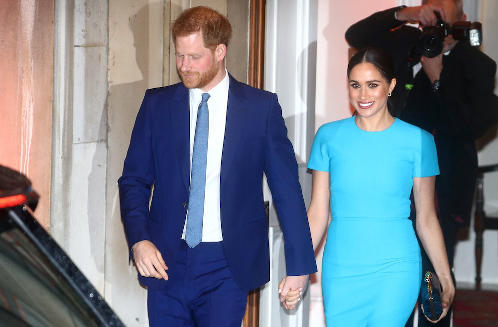 Just days before Harry and Meghan are due to appear in an interview with Oprah Winfrey, the Palace said the pair's honorary military appointments and royal patronages would be returned to the queen. ― Reuters pic