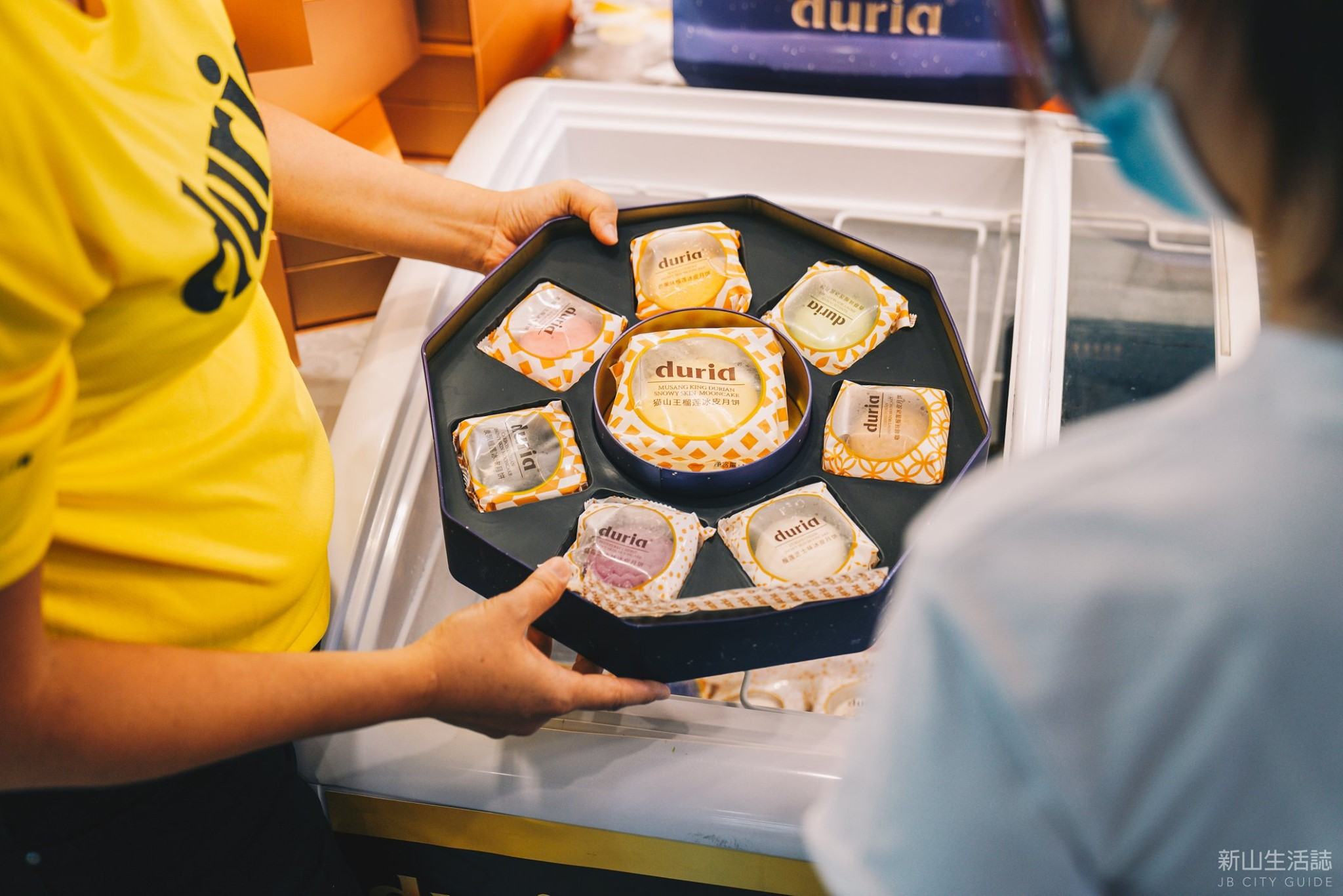 Delicious treats await Johorean shoppers at NSK's inaugural Mid-Autumn Mooncake Fair at Sunway Big Box Johor Baru. — Picture courtesy of Sunway Malls