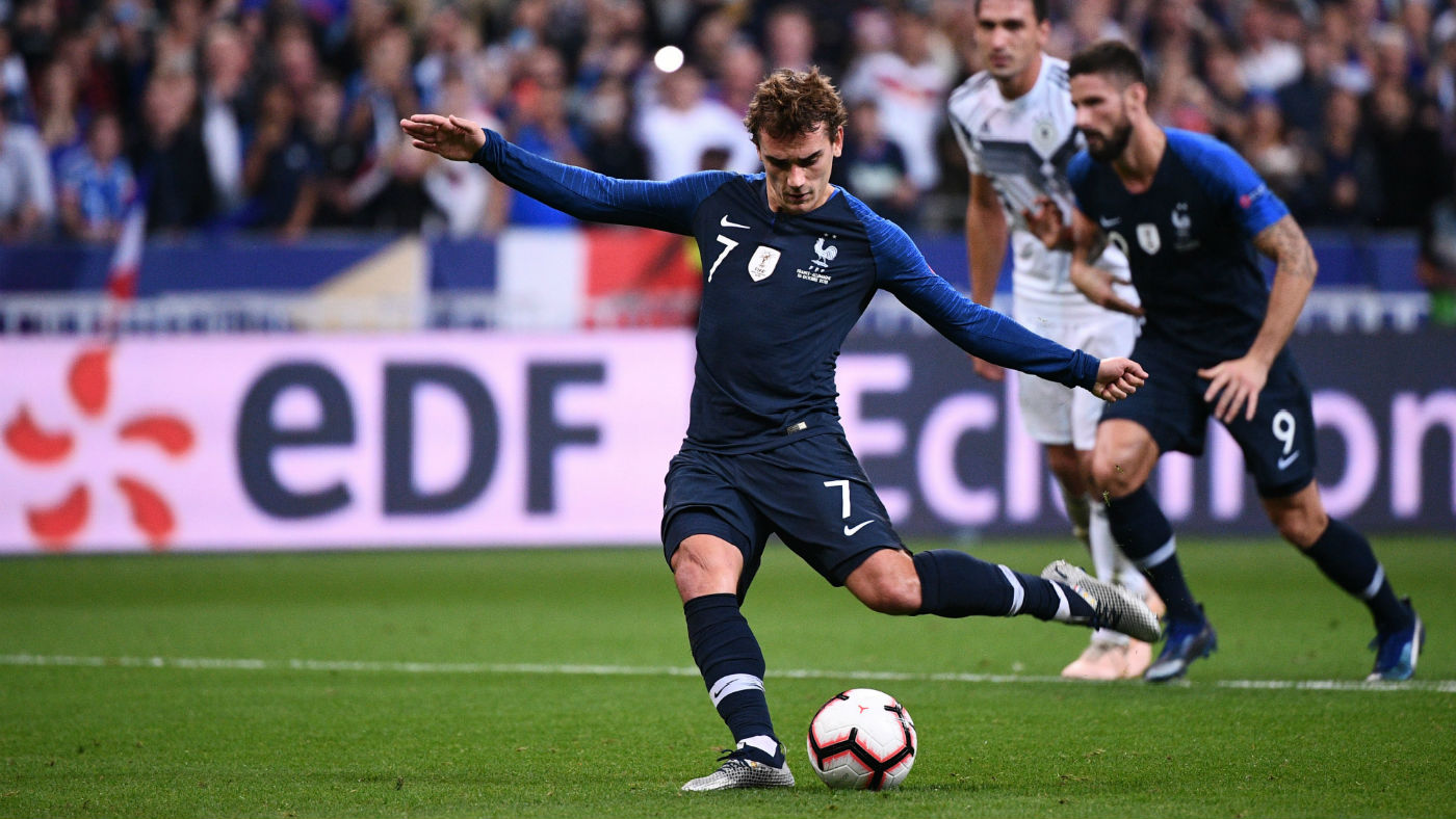 Antoine Griezmann was a World Cup winner with France at the 2018 finals in Russia