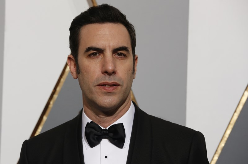 Sacha Baron Cohen arrives at the 88th Academy Awards in Hollywood, California February 28, 2016. — Reuters pic