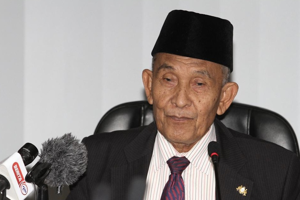 Johor Islamic Religious Affairs Committee chairman Tosrin Jarvanthi said letters have been sent out to three of Hizbut Tahrir Malaysia members, including its state chapter leader Sallahudin Mashkuri, last Sunday. — Picture by Ben Tan