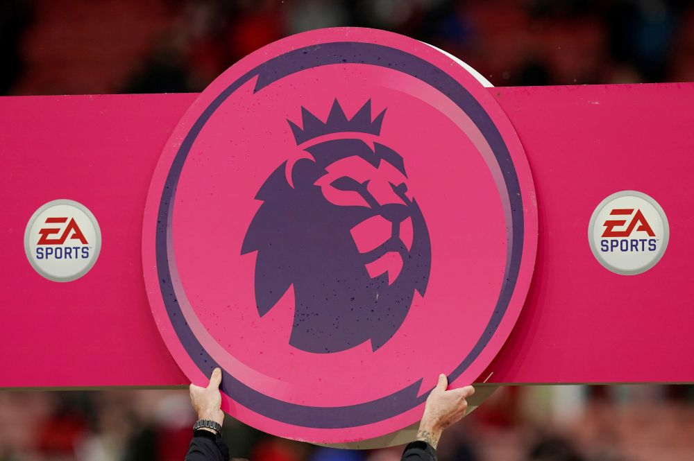 A general view of the Premier League logo before the match between Sheffield United and Brighton & Hove Albion in Sheffield February 22, 2020. — Reuters pic