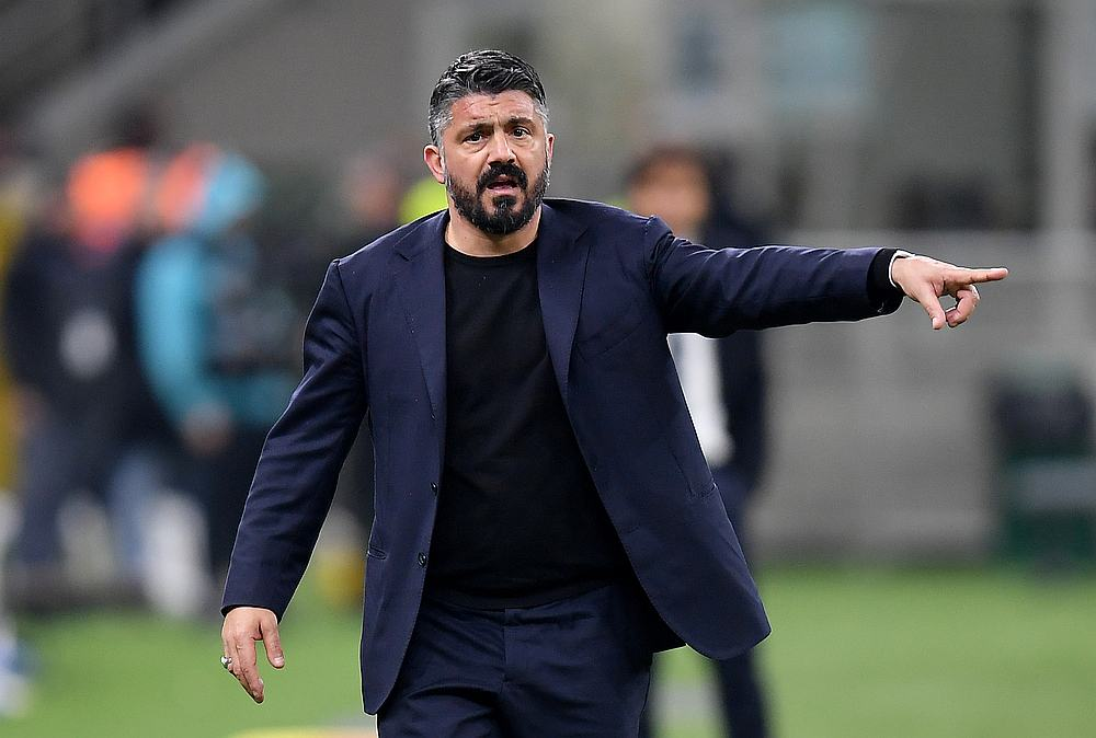 Gennaro Gattuso left Napoli at the end of last season, moving to Serie A rivals Fiorentina where he spent just three weeks before quitting after a row over strategy and signings. — Reuters pic