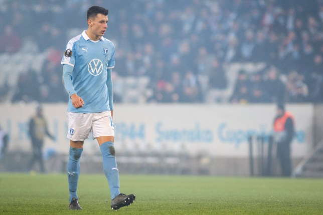 Chelsea's move for Malmo defender Anel Ahmedhodzic has been blocked, according to the player's father