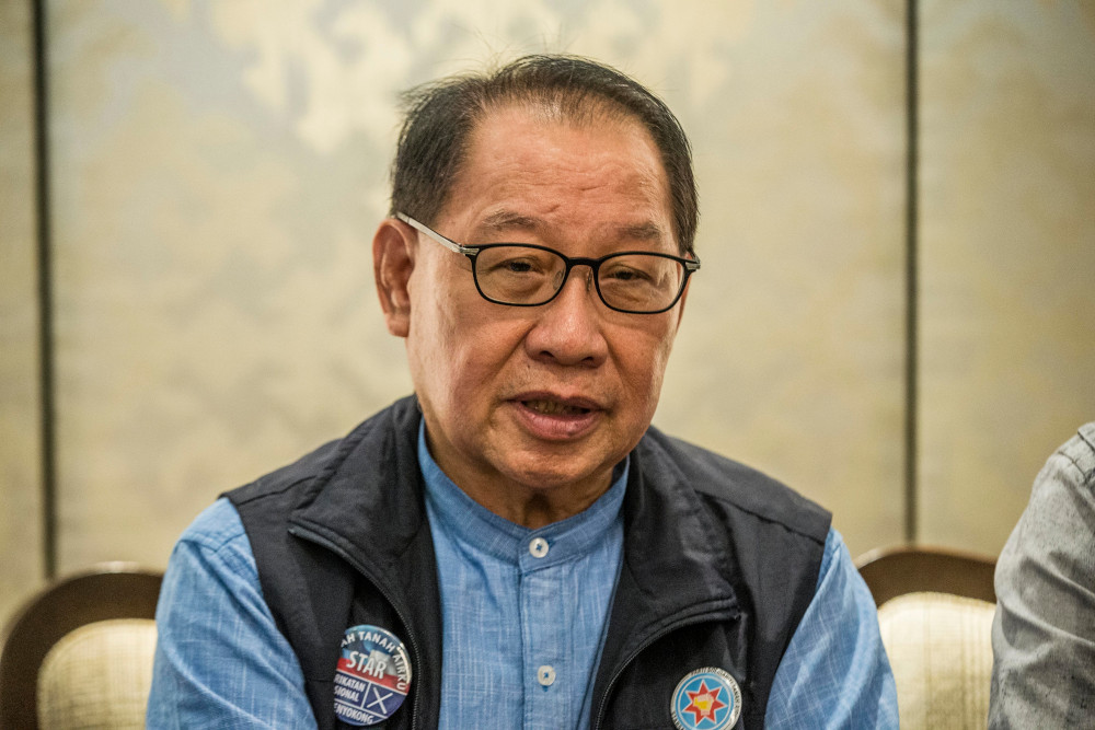 Sabah Deputy Chief Minister Datuk Seri Panglima Dr Jeffrey Kitingan said the usual month long Harvest Festival celebration will kick off on May 1. — Picture by Firdaus Latif